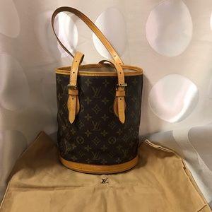 Louis Vuitton Monogram Bucket Bag